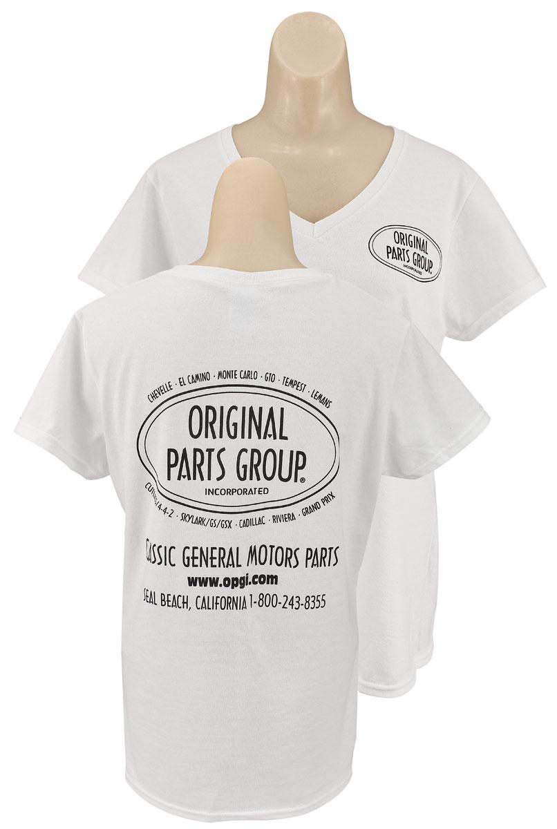Photo of Original Parts Group Shirt, Women's white V-neck