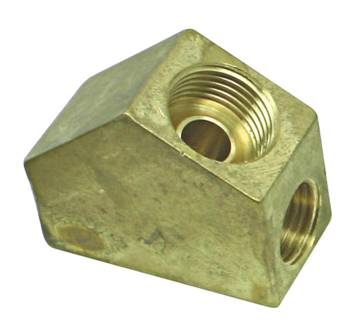 Photo of Fuel Pump-To-Carburetor Line Bracket & Brace all Holley carbs, Y-block