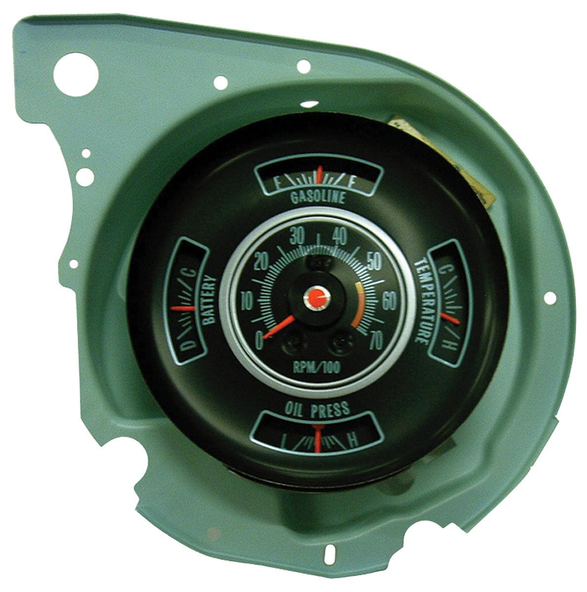 Photo of Tachometer & Gauge; Super Sport 5000 redline