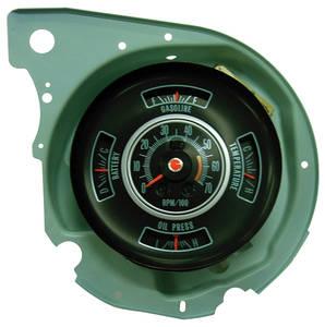 1969-1969 Chevelle Tachometer & Gauge; Super Sport 6000 Redline