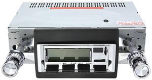 1969 GTO Stereo, Vintage Car Audio 300 Series Specify Chrome or Black