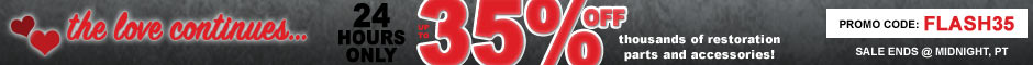 1964 Catalina/Full Size Flash Sale Promotion Banner