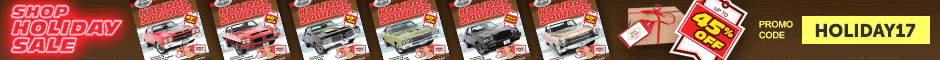 1966 GTO 2017 Holiday Catalogs Arrived Promotion Banner