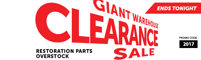 Giant Warehouse Clearance Sale