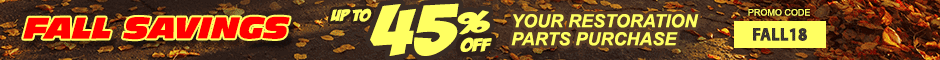 1968 LeMans Save up to 45% Promotion Banner
