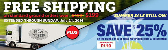 Save up to 25% & Free Shipping Orders Over $199