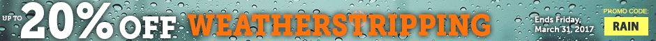Skylark Save up to 20% Off Weatherstripping & More Promotion Banner