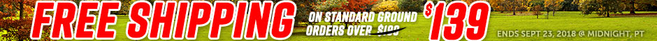 El Camino Free Shipping on Orders over $139 Promotion Banner