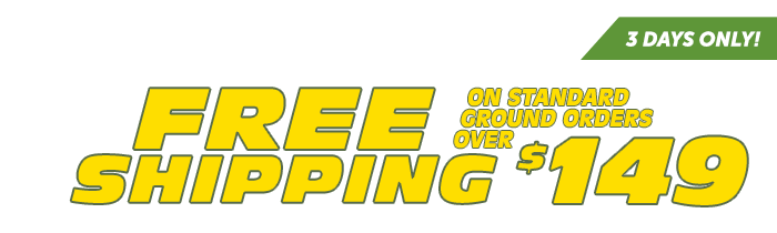 Free Shipping on Orders $149+